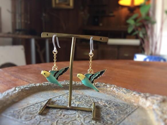 鳥のピアス3